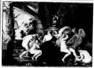 Diana en Actaeon