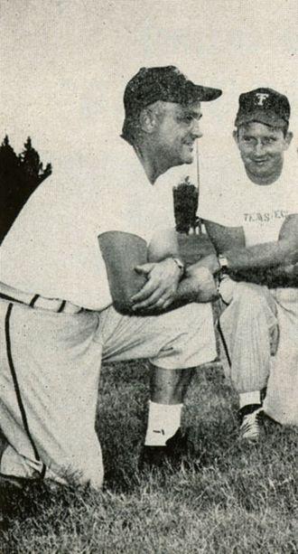 DeWitt Weaver - Weaver (left) in 1955
