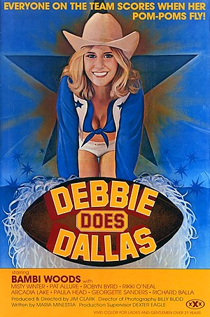 Debbie Does Dallas - theatrical poster
