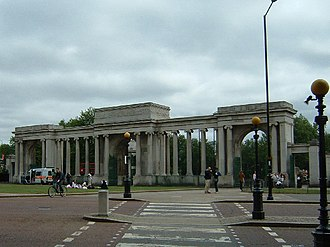 Hyde Park Corner - Decimus Burton's Ionic Screen at Hyde Park Corner