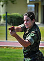 Defense.gov News Photo 100506-N-4774B-031 - U.S. Navy Seaman Lindsey Bakke and other law enforcement members rehearse techniques during the Naval Security Forces training course a pilot.jpg