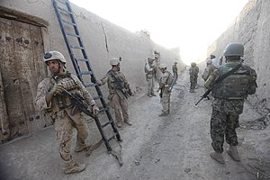 2nd Reconnaissance Battalion (United States Marine Corps) - Marines from the 2nd Recon Battalion in Nimroz Province, Afghanistan, 2011