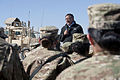 Defense.gov News Photo 111214-D-BW835-002 - Secretary of Defense Leon E. Panetta speaks to troops with the 172nd Infantry Brigade at forward operation base Sharana Afghanistan on Dec. 14.jpg