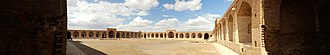 Deir-e Gachin - Image: Deir e Gachin Caravansarai interior panorama