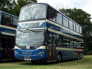 Delaine Buses - Image: Delaine Buses 153 AD62 DBL