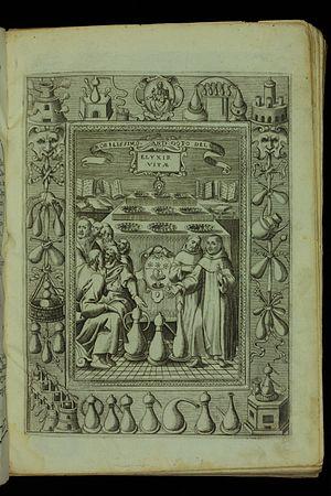 Elixir of life - Dell' elixir vitae, 1624