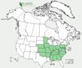 Delphinium tricorne US-dist-map.png