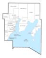 Delta County, MI census map.png