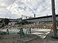 Demolishing old JR Zeze station.jpg