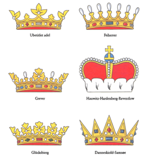 Danish nobility Socially privileged class in Denmark