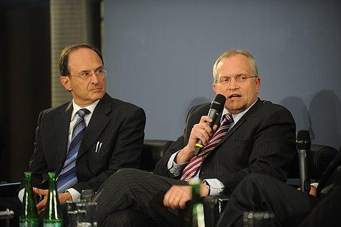 Dennis Snower (ifW) en Christoph M. Schmidt (RWI) .jpg