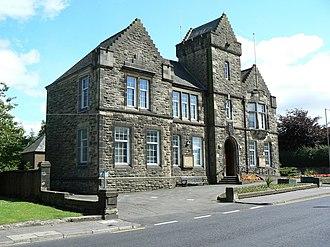 Denny, Falkirk - Image: Denny Town House