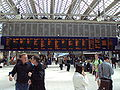 Departures board, Glasgow Central railway station - DSC06291.JPG