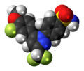 Deracoxib molecule spacefill.png