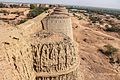 Derawar fort- the dilapidated condition of the outer wall.jpg