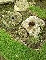 Detail from roman fort of Vindolanda 27.jpg