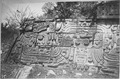 Detail of walls on ruins in Mexico or Central America - NARA - 523616.tif