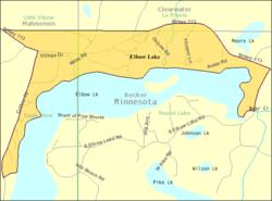 elbow lake mn map Elbow Lake Becker County Minnesota Wikipedia elbow lake mn map