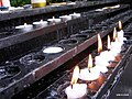 Devotional candles, Church of Saint Mary of the Angels, Singapore - 20081225.jpg