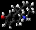 Dezocine molecule ball.png