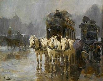 Ulpiano Checa - Rainy Day in Paris