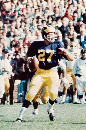 Dick Vidmer - Vidmer from 1968 Michiganensian