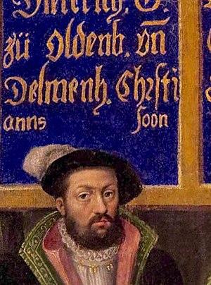 Dietrich, Count of Oldenburg - Image: Didrik den Lykkelige (Rosenborg)