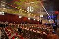 Die!!! Weihnachtsfeier 2013, 026 Für rund 600 erwachsene Gäste waren nicht nur die Tischreihen in der Glashalle vom Hannover Congress Centrum festlich geschmückt worden.jpg