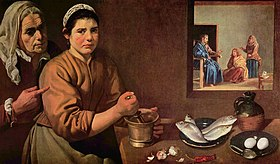 Image illustrative de l'article Christ dans la maison de Marthe et Marie