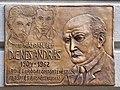 Dienes András plaque (Budapest-01 Mészáros u 18).jpg