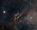 Digitized Sky Survey Image Around the Stellar Cluster RCW 38.jpg