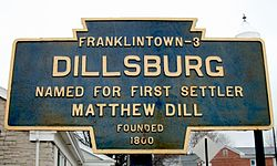Official logo of Dillsburg, Pennsylvania