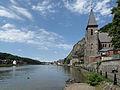 Dinant, de Meuse en de stad positie2 foto1 2012-06-30 14.25.JPG