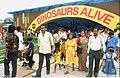 Dinosaurs Alive Exhibition - Science City - Calcutta 1995-June-July 178.JPG