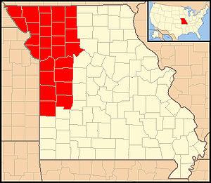 Roman Catholic Diocese of Kansas City–Saint Joseph - Image: Diocese of Kansas City Saint Joseph
