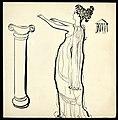 Disegno per copertina di libretto, disegno di Peter Hoffer per Alceste (s.d.) - Archivio Storico Ricordi ICON012463.jpg
