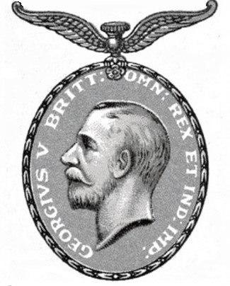 Distinguished Flying Medal, George V obverse