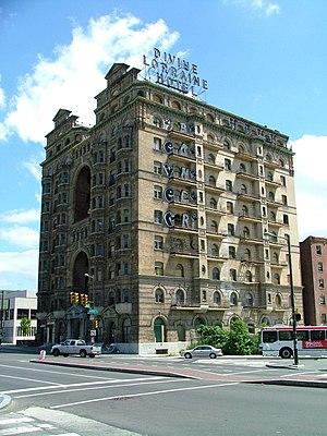 Divine Lorraine Hotel - Image: Divine Lorraine from Southwest
