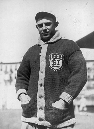 Doc Crandall - Doc Crandall in uniform for the St. Louis Terriers, 1914.