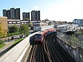 Docklands Light Railway north of Elverson Road DLR station (2) - geograph.org.uk - 1053369.jpg