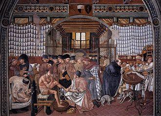 Domenico di Bartolo - Domenico di Bartolo - Care of the Sick - WGA06417