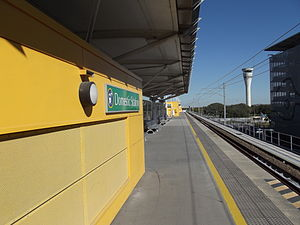 Domestic Airport Railway Station, Queensland, June 2012.JPG