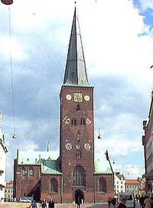 Midtbyen, Aarhus - Image: Domkirke 1
