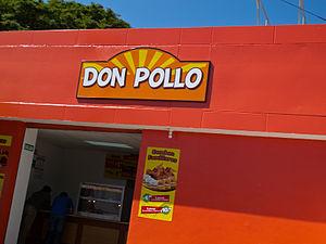 Pollo Campero - A Don Pollo outlet in El Salvador