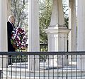 Donald Trump lays a wreath at Andrew Jackson's tomb, March 15, 2017 (cropped).jpg