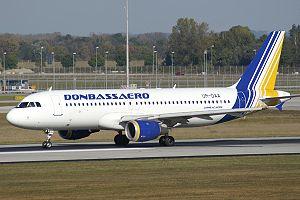 Donbassaero - Donbassaero Airbus A320-200