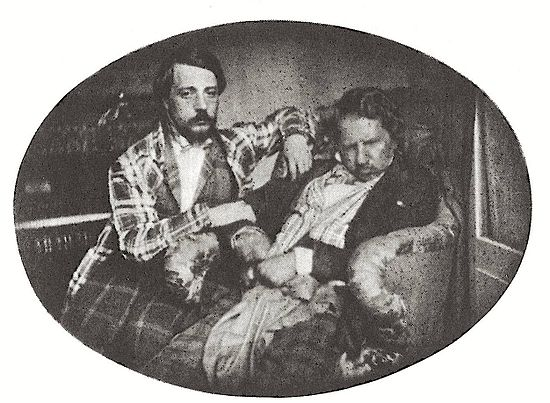 Daguerreotype taken on 3 August 1847: Donizetti with his nephew Andrea in Paris Donizetti Foto.jpg
