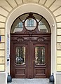 Door at 44 Nowogrodzka Street in Warsaw, Warsaw, Poland, 2019.jpg