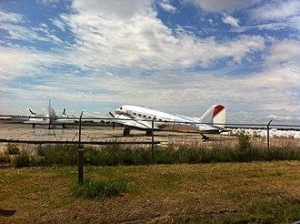 Gimli Industrial Park Airport - Gimli Industrial Park Airport in 2012