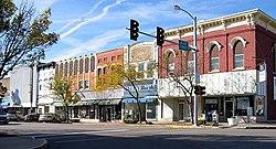 Downtown LaSalle, Illinois.